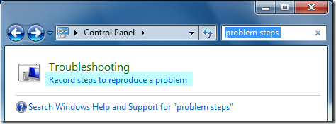 Windows 7 Troubleshooting