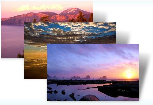 Windows 7 dusk and dawn Theme
