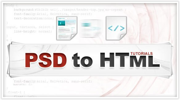 PSD to HTML Converters