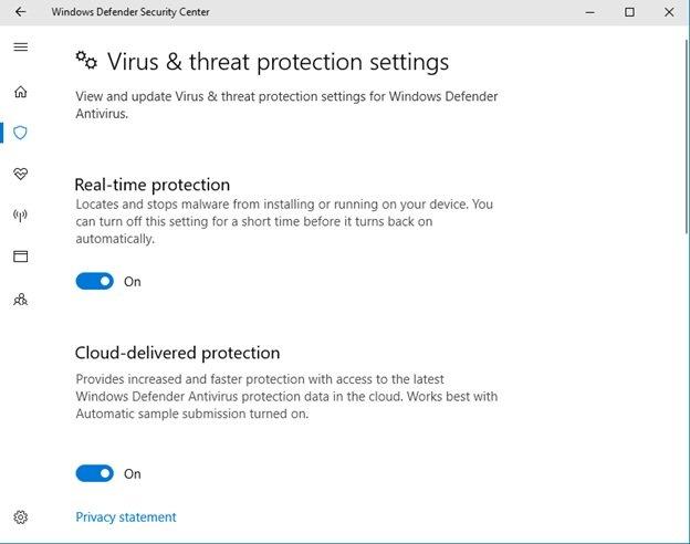 Install antivirus