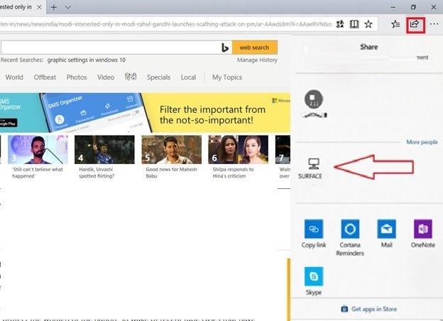 Near Share on Windows 10