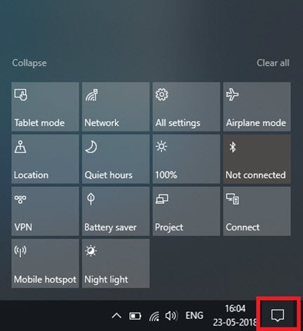 Notifications On Windows 10